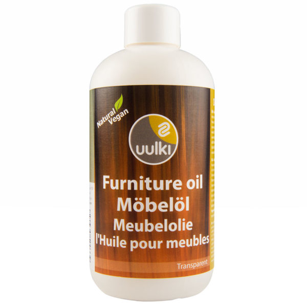 Uulki natural wood oil for indoor furniture