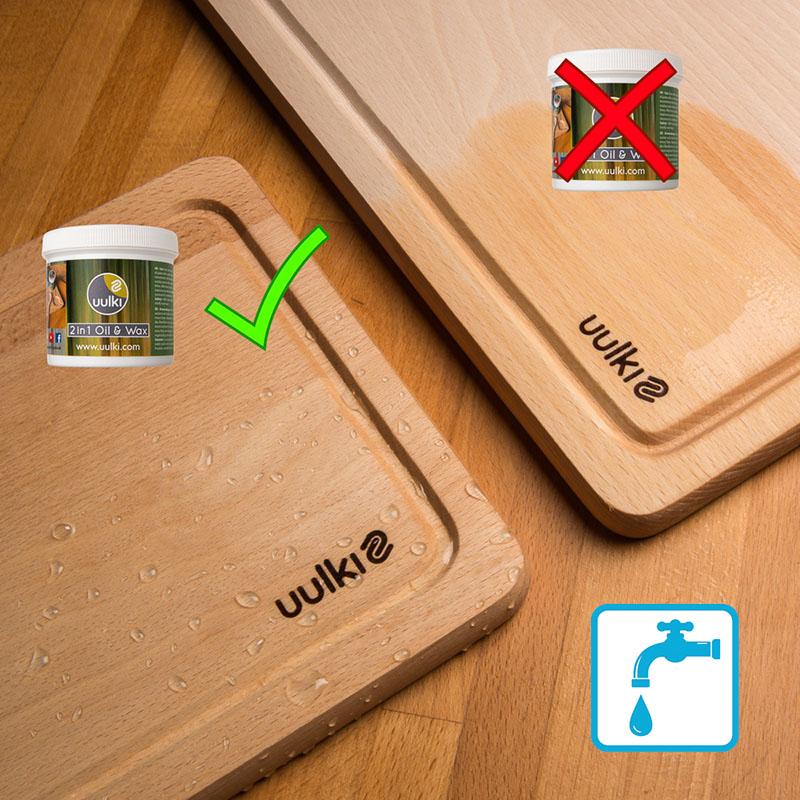 houten snijplank onderhouden