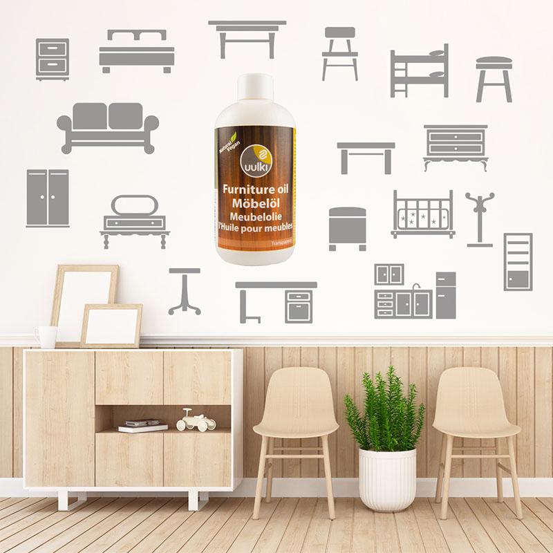 meubels hout olie polish