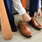 schoenen aantrekken