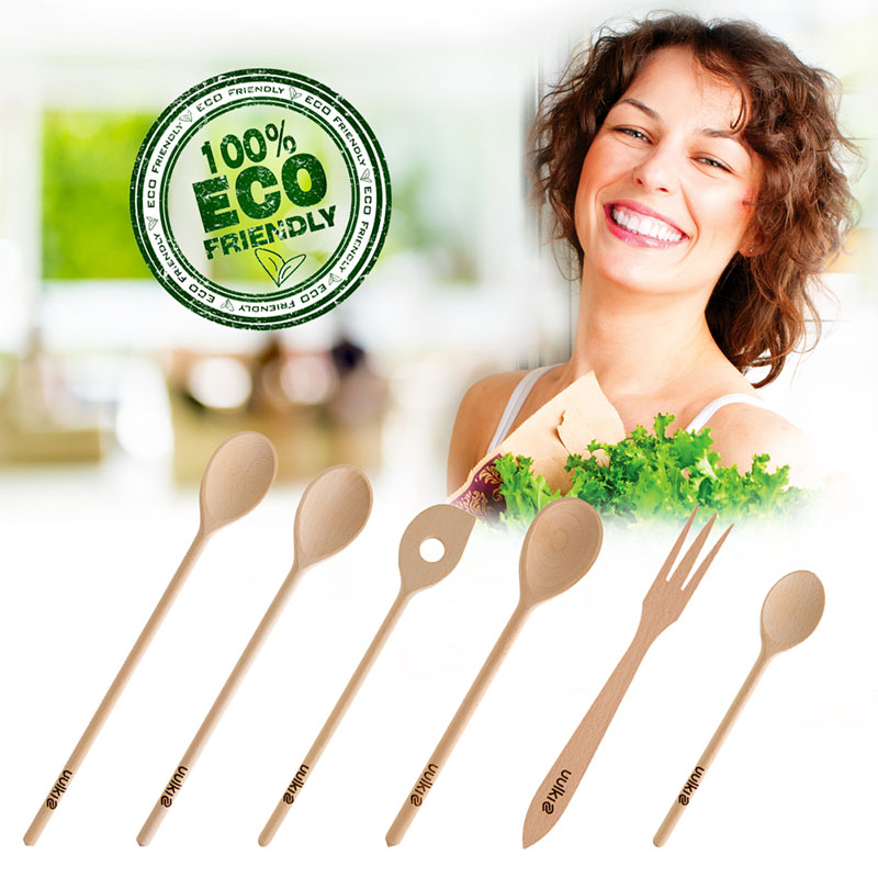 set cooking spoons eco friendly