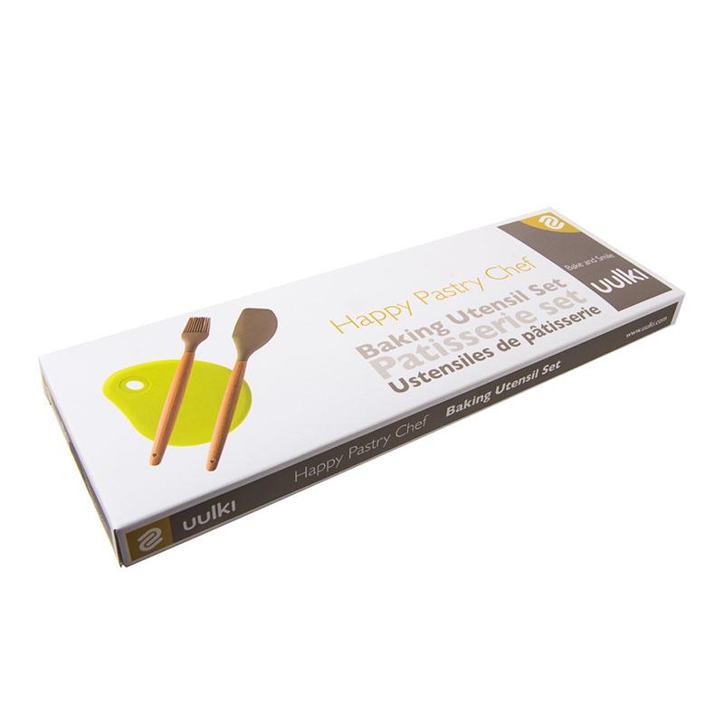 silicone spatula wood