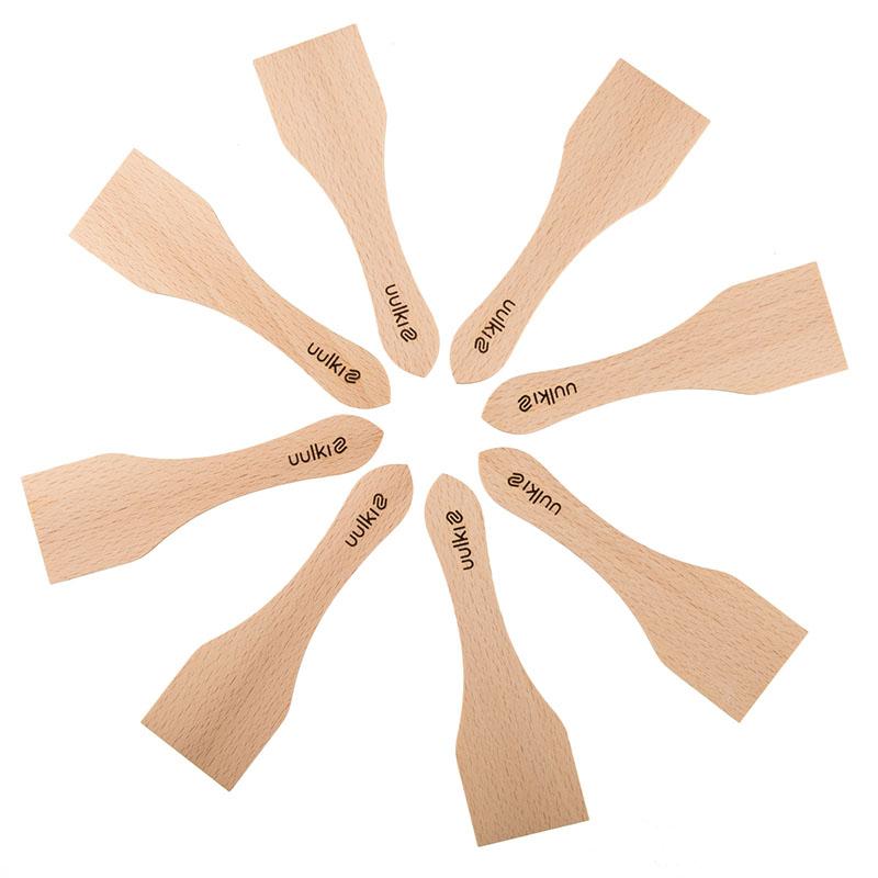 uulki houten raclette spatels set