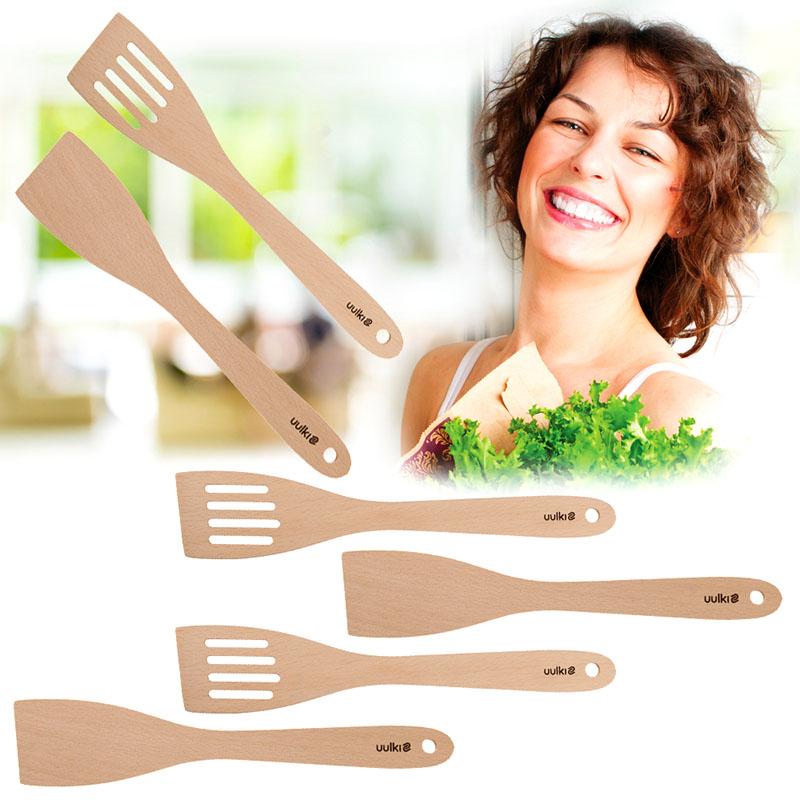 wooden food turner