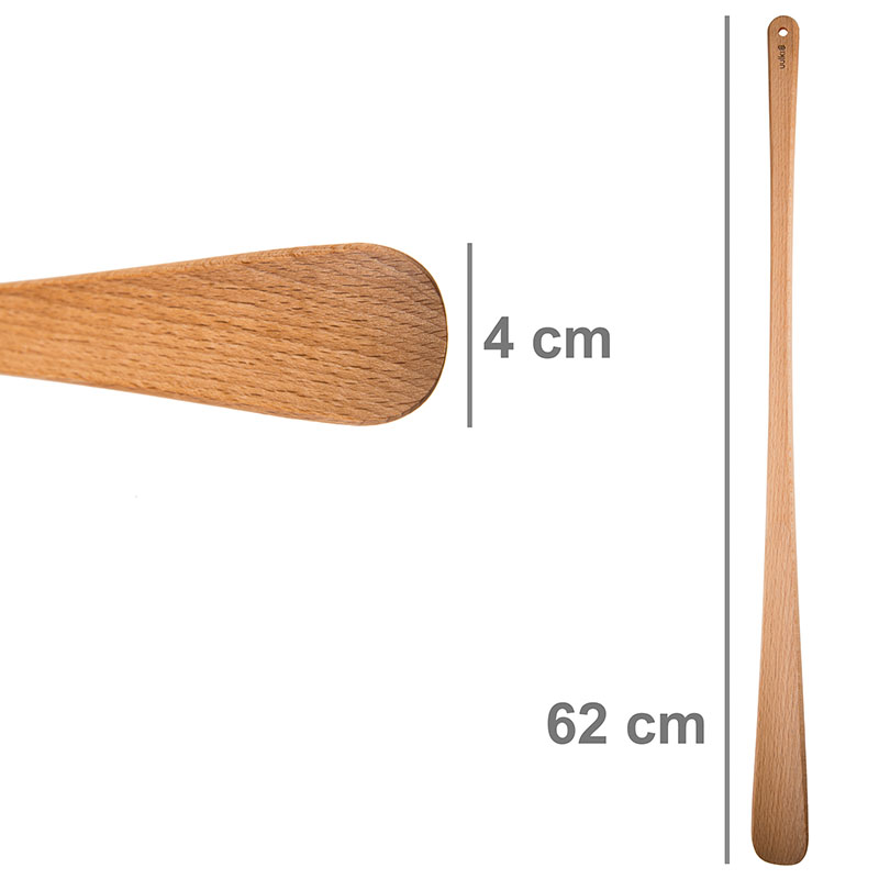 corne chaussure long