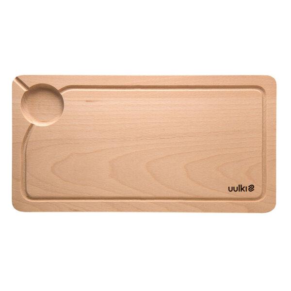 uulki small wooden chopping board