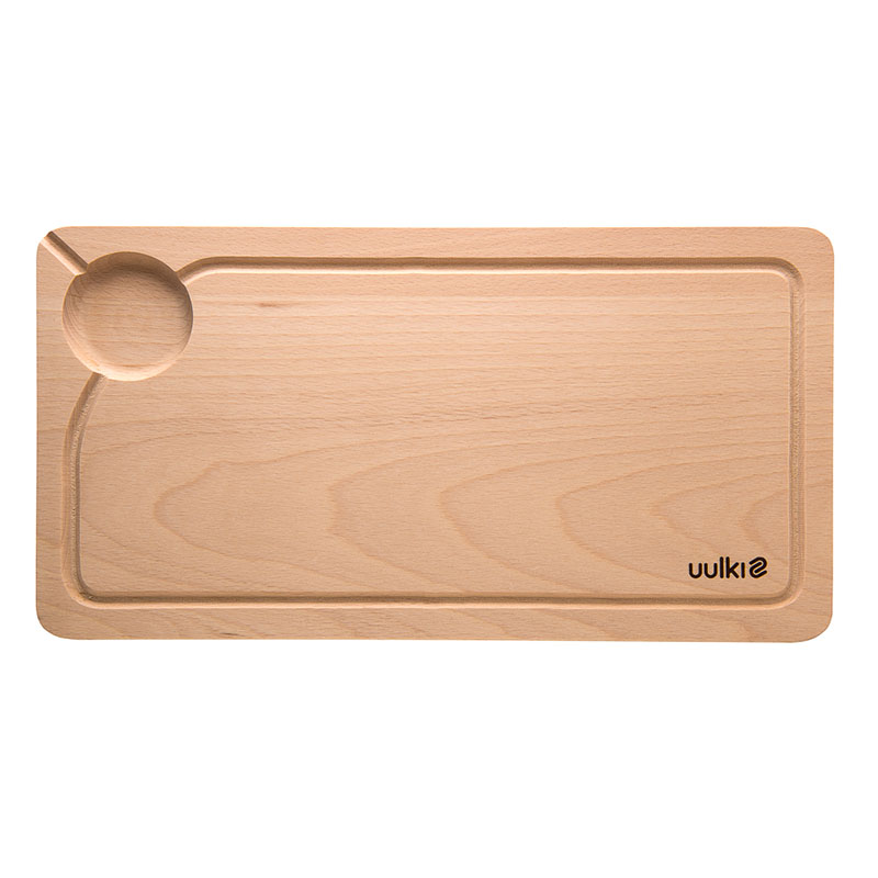 uulki small wooden chopping board