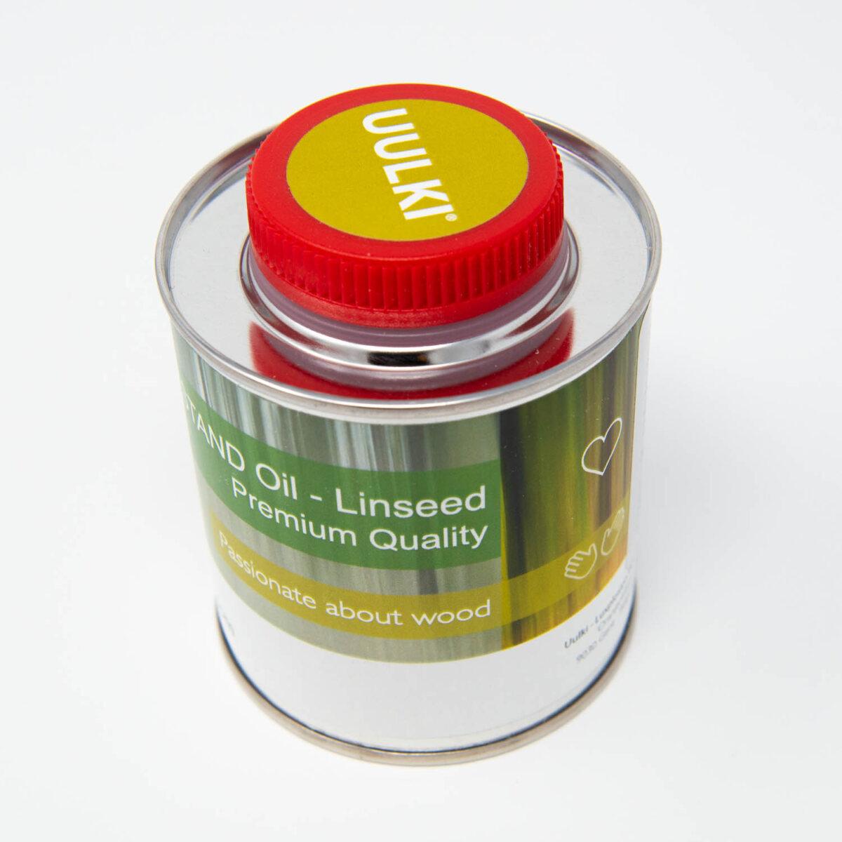 huile de lin peinture