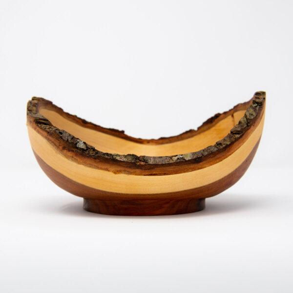 uulki houten decoratieve schaal
