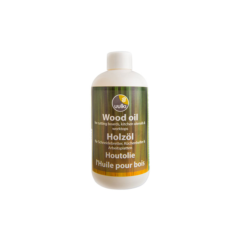 Uulki wood oil for chopping boards countertops