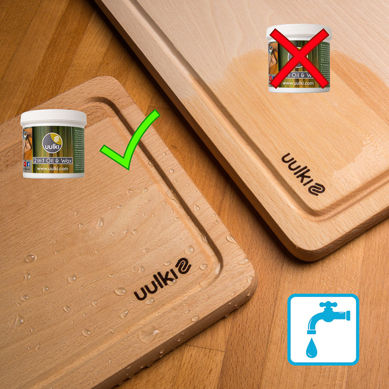 food safe chopping board finish