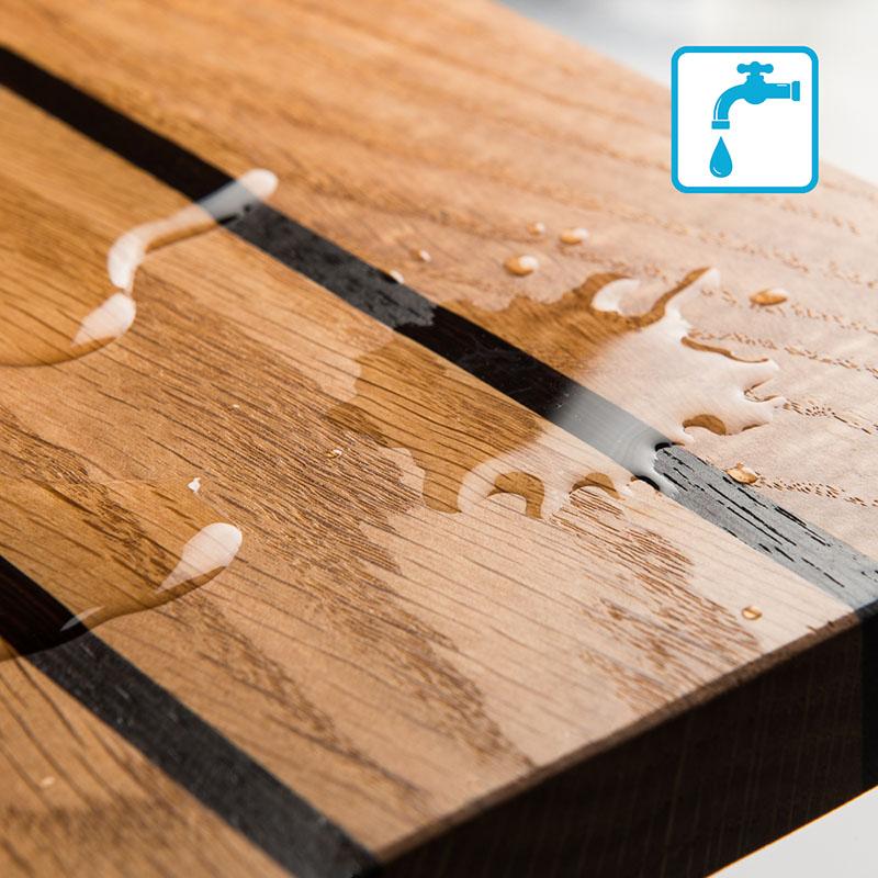 olie voor onderhoud van houten en bamboe keukengerei