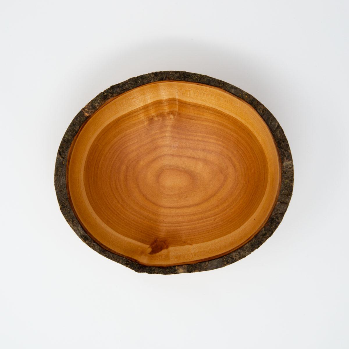 ronde schaal hout