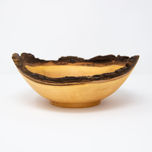 uulki wooden serving bowl