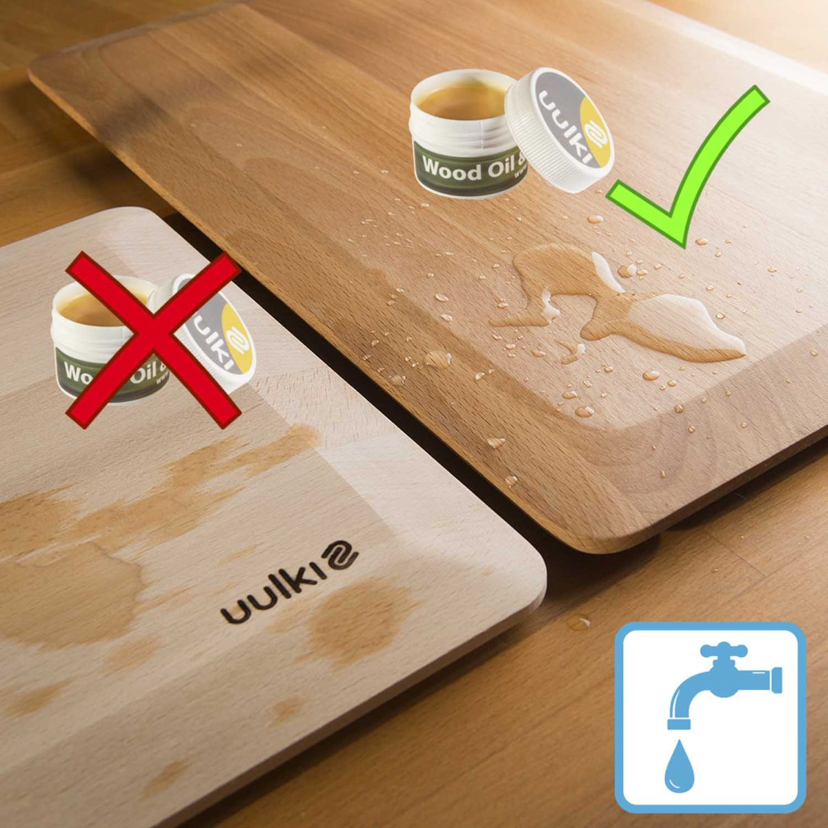 waterproofing wood countertops