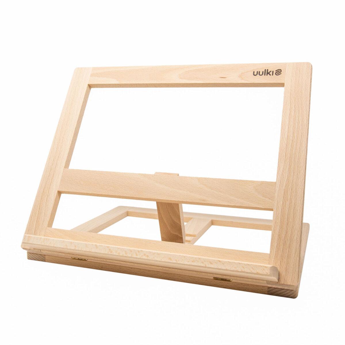 uulki houten kookboekstandaard