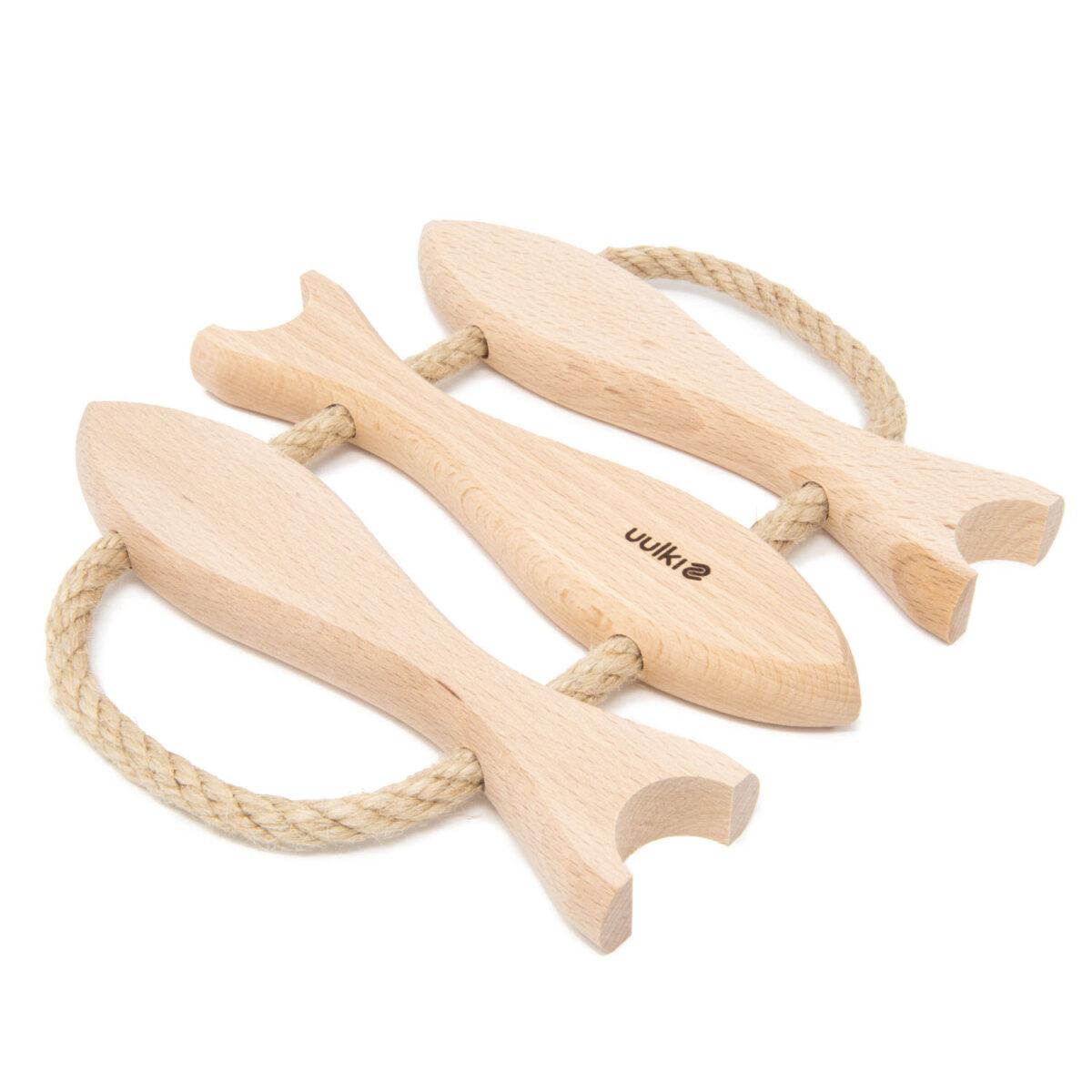 uulki houten onderzetter voor pannen en kookpotten