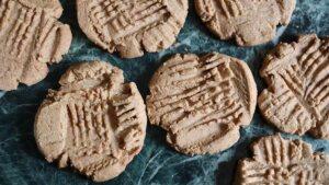 recette des peanut butter cookies vegan