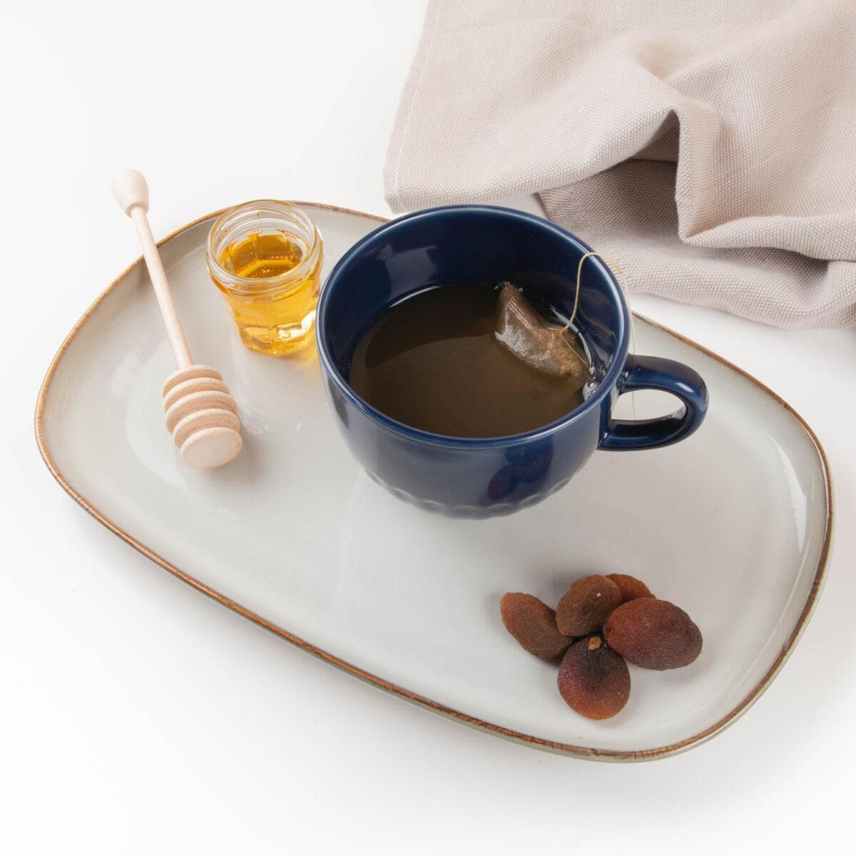 reusable wooden honey spoon
