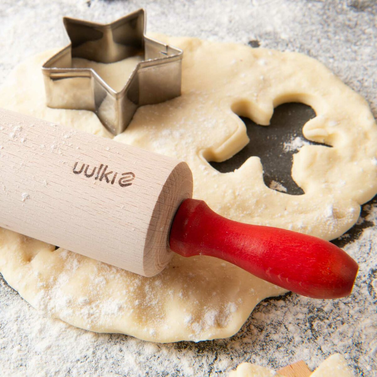 wooden toys rolling pin kids