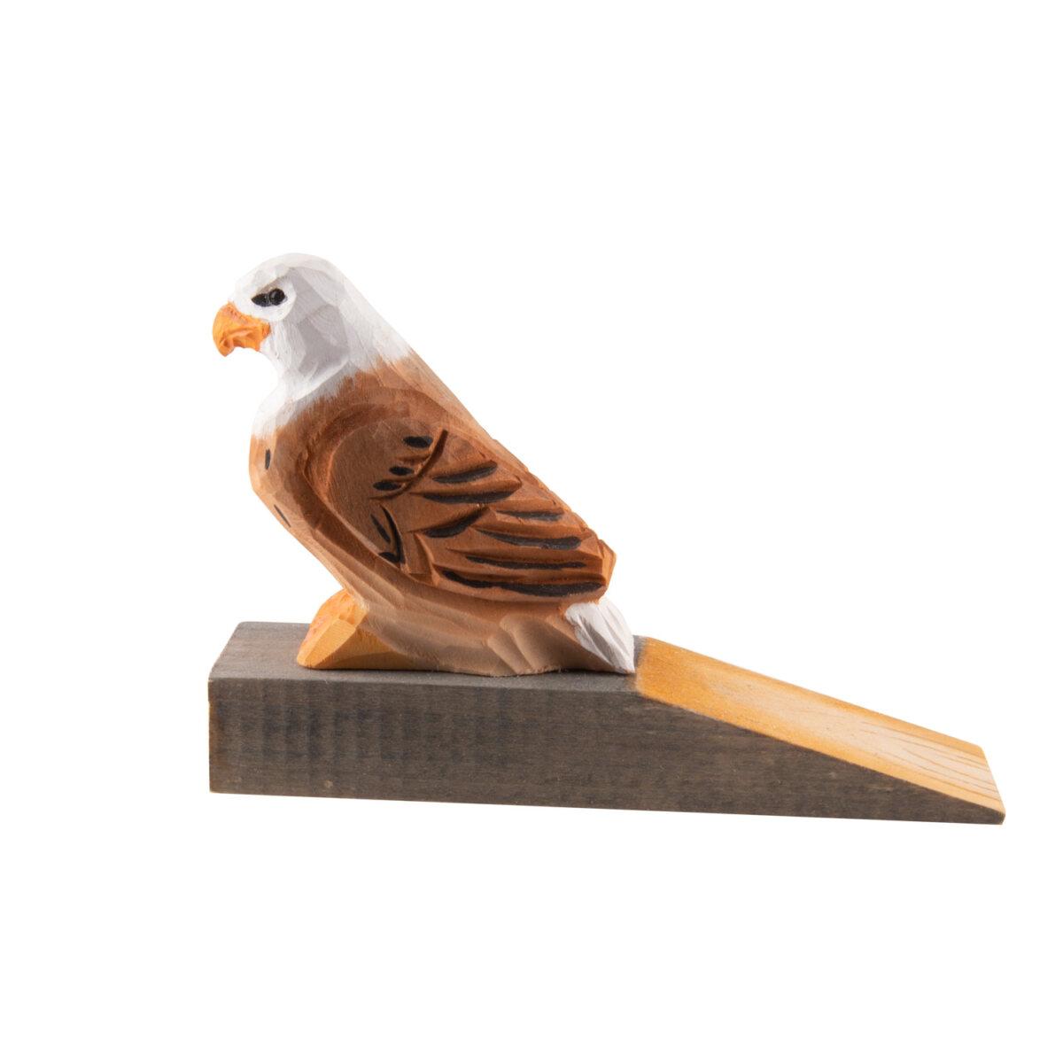 animal door stop eagle
