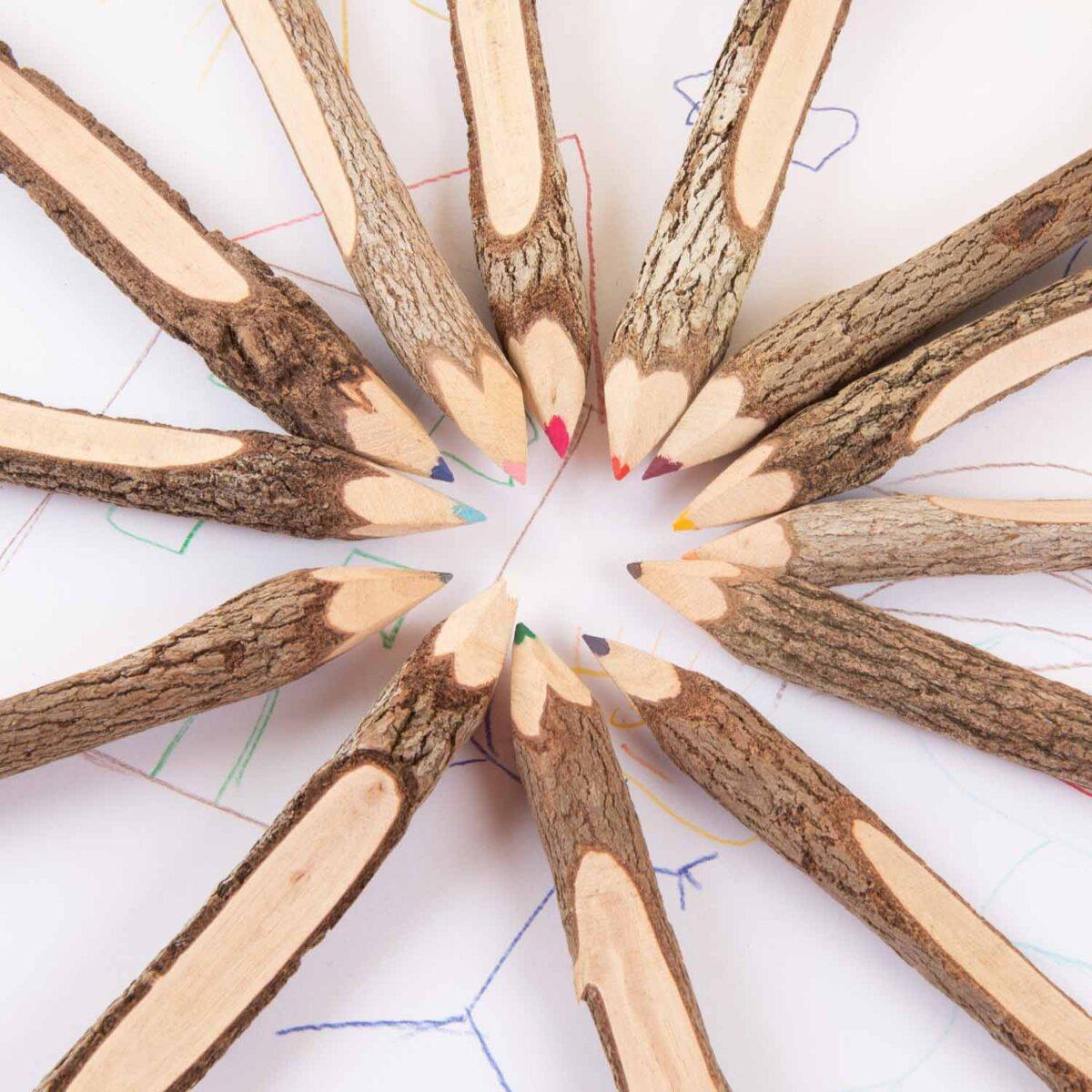 dikke potloden voor kleuters