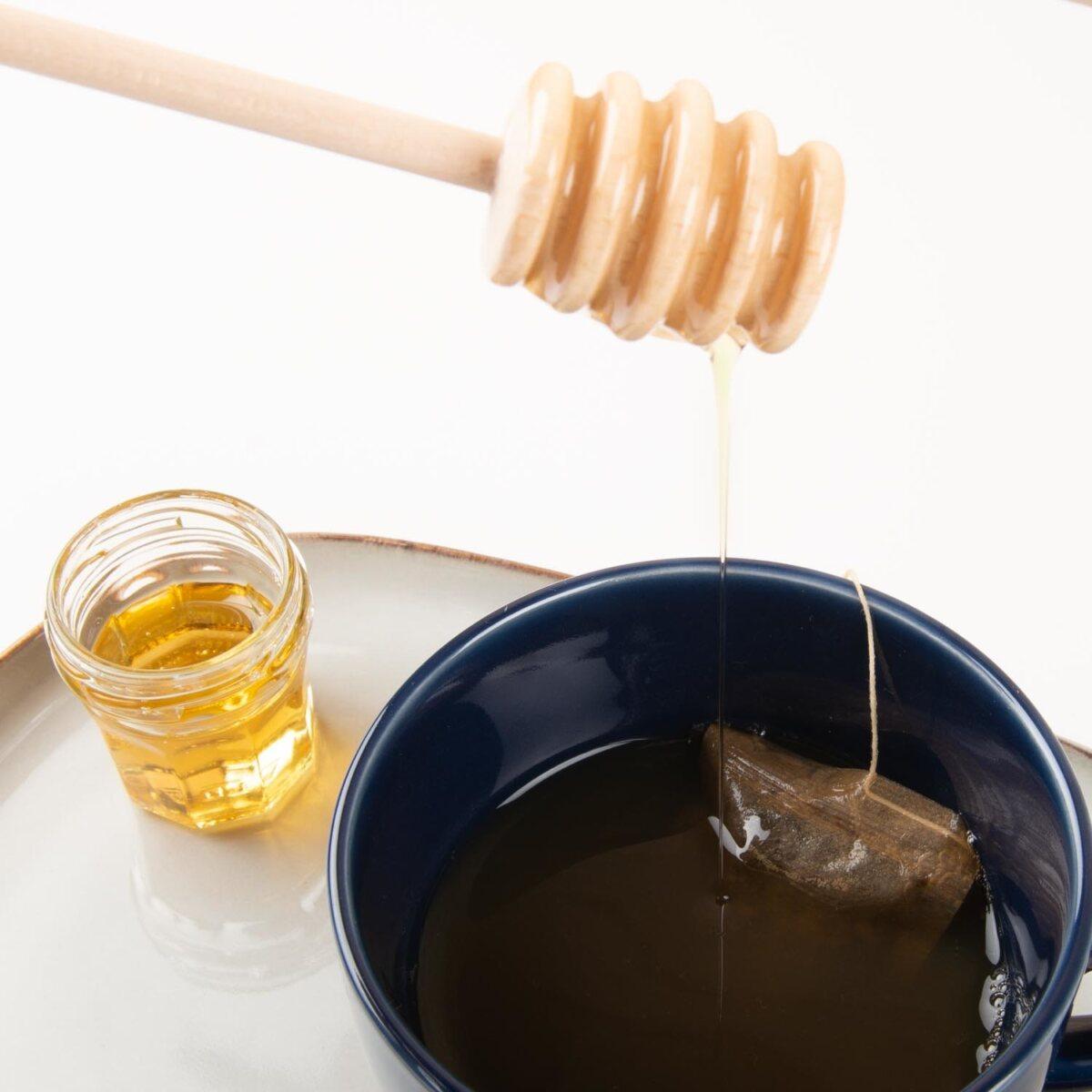 ecologische honing lepel