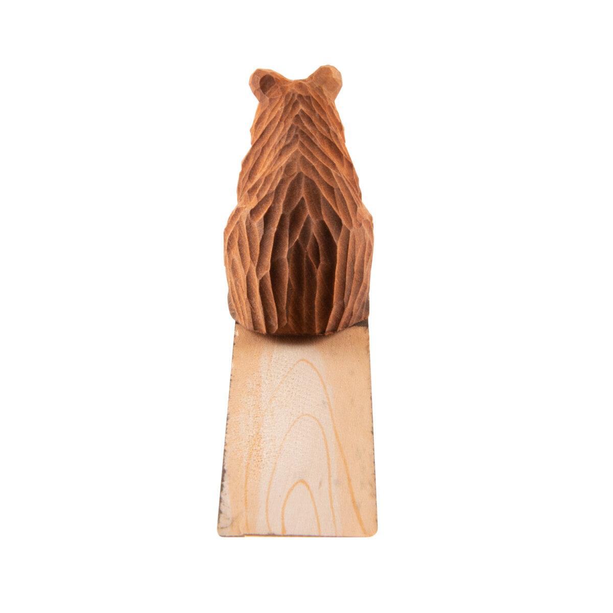 houten deurbescherming beer