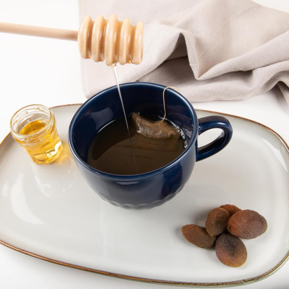 houten honing drizzler