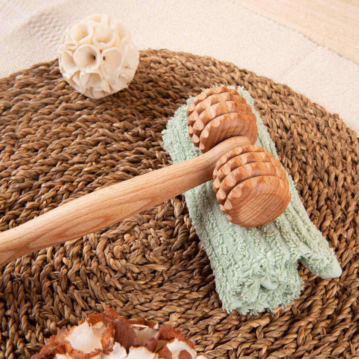 houten massagetoestel