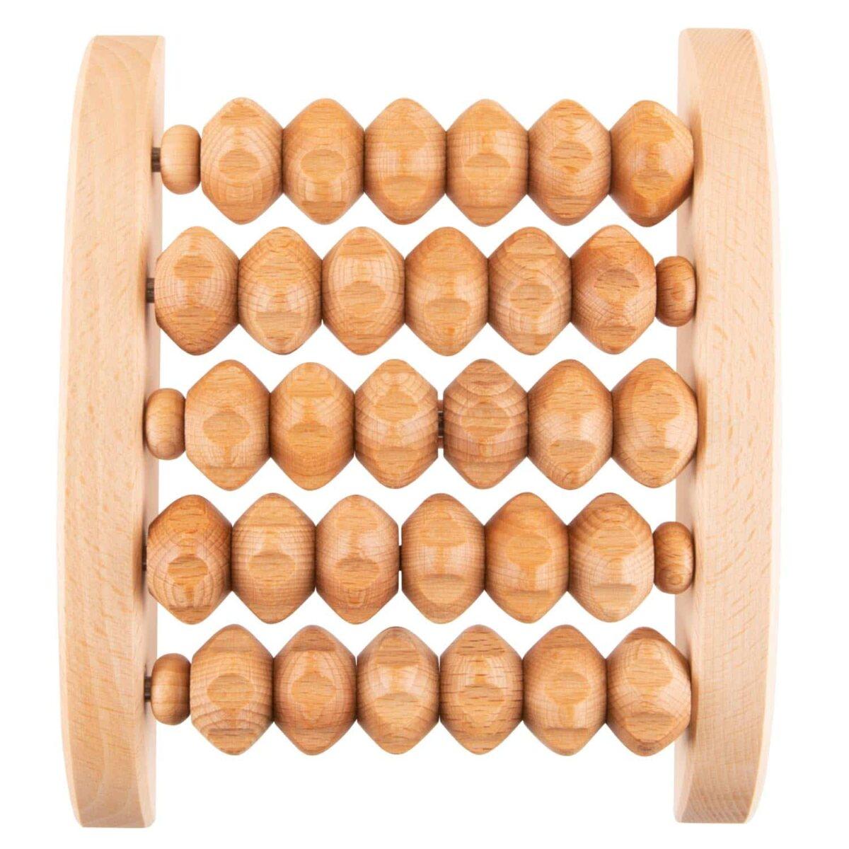 houten voetreflexmassagetoestel