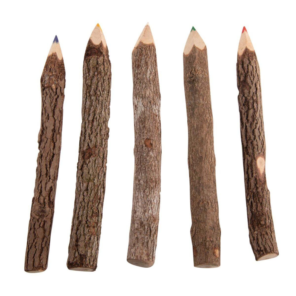 set van potloden om te kleuren