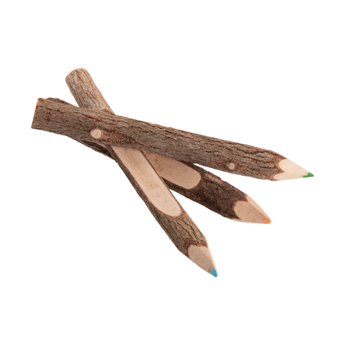 uulki wooden coloured pencils