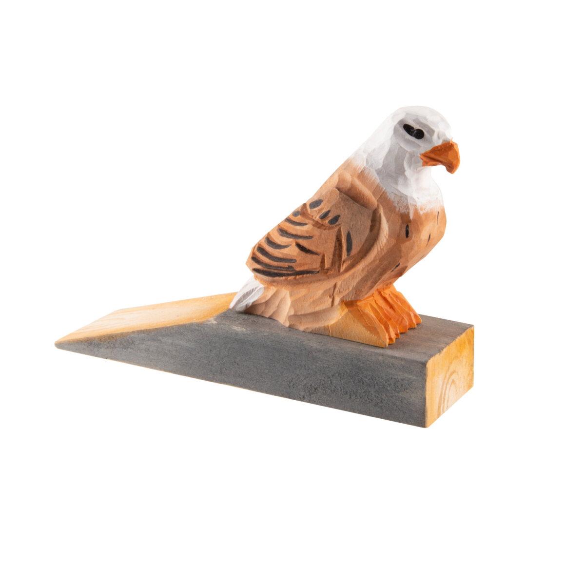 uulki wooden door stop eagle