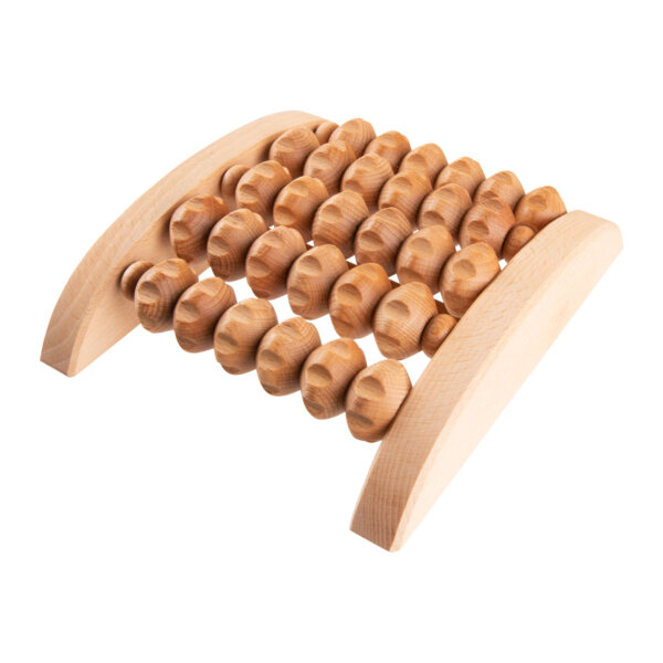 uulki wooden foot massage roller