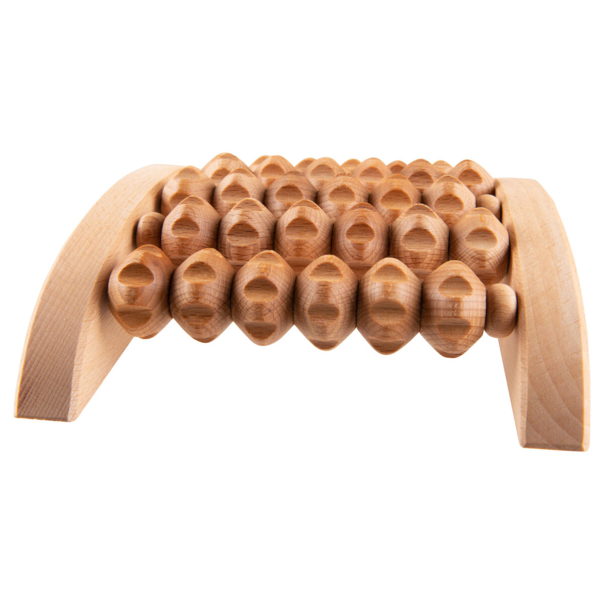 wooden foot massage roller